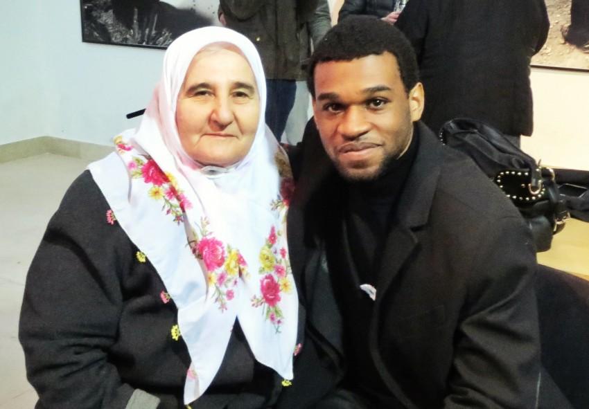 Jonas Pelendi and Mothers of Srebrenica