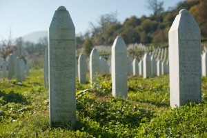 Potocari Cemetery for Srebrenica victims