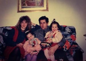 Dzeneta with her family
