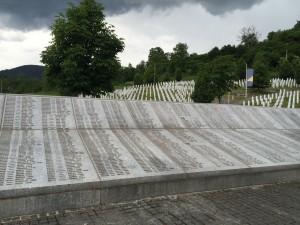 Potocari Memorial Stone