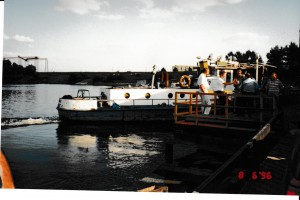 The ferry to Bosnia