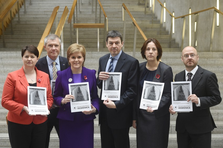 Scottish Party Leaders back education materials