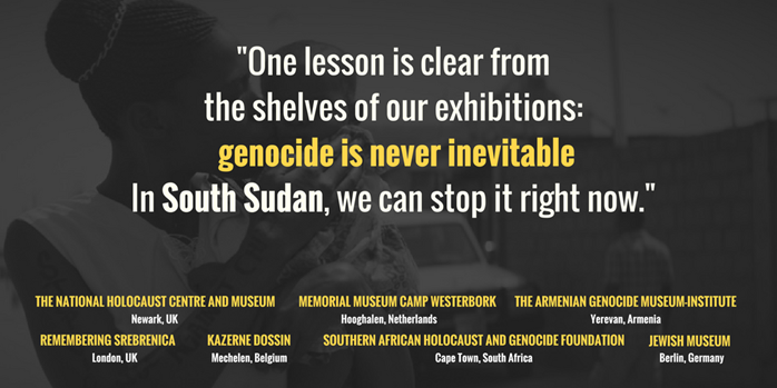 South Sudan call