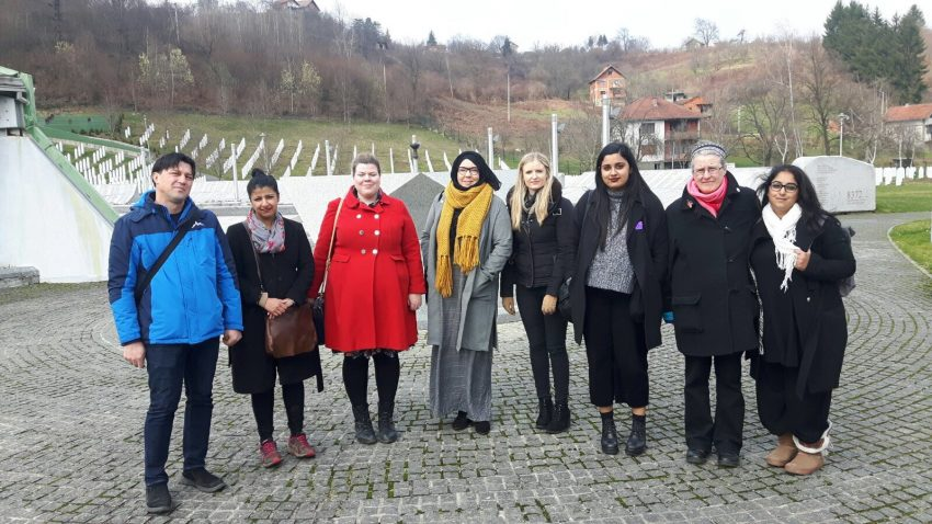 Women's delegation in Potocari