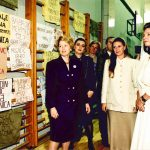 1996_Srebrenica_SH with Queen Noor